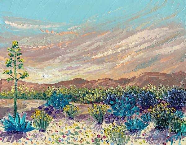 A Desert Daydream   Original Oil Painting Art | Tessa Nicole Art