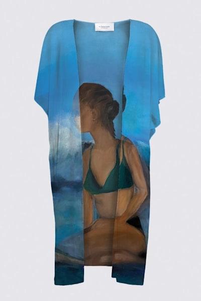 Surfer Kimono Wrap