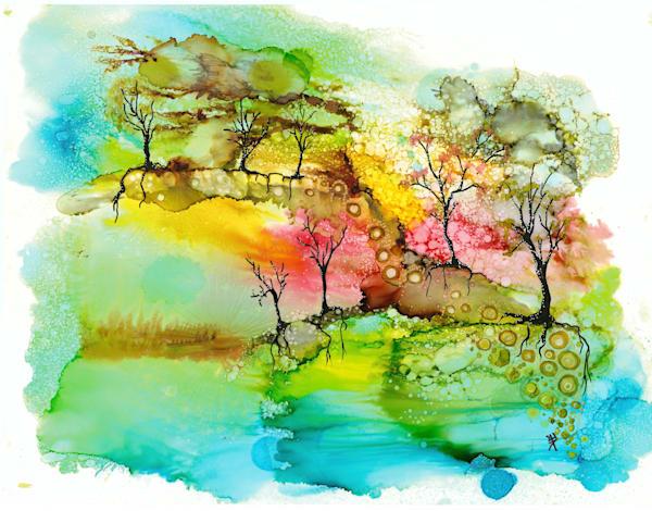 Park Walk Hds Art | Art With Judy Ann