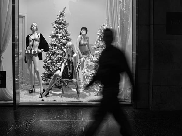 Window Shopping Photography Art | Harry John Kerker Photo Artist