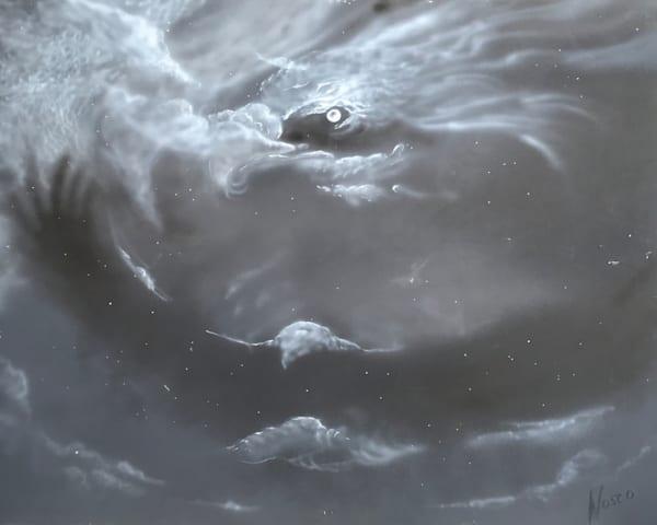 Eagles At Midnight Art   Nosco Fine Art