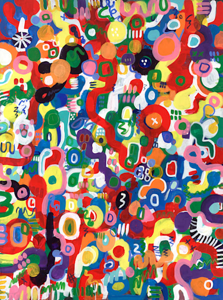 Colorful Abstract Prints
