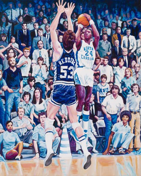 Walt Davis Vs. Duke 1974 Art | George Terry McDonald Art