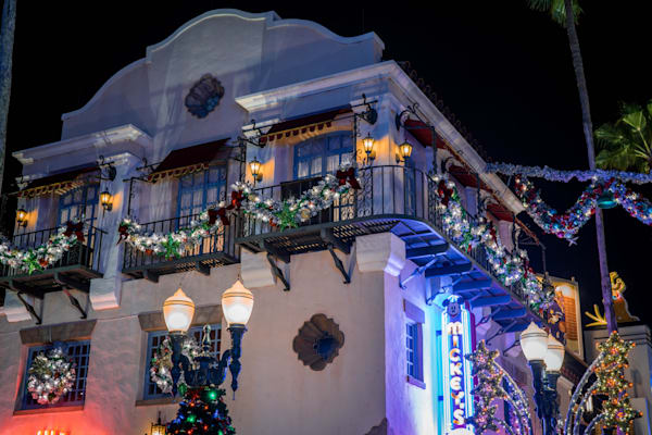 Mickey's Of Hollywood Christmas Photography Art | William Drew Photography