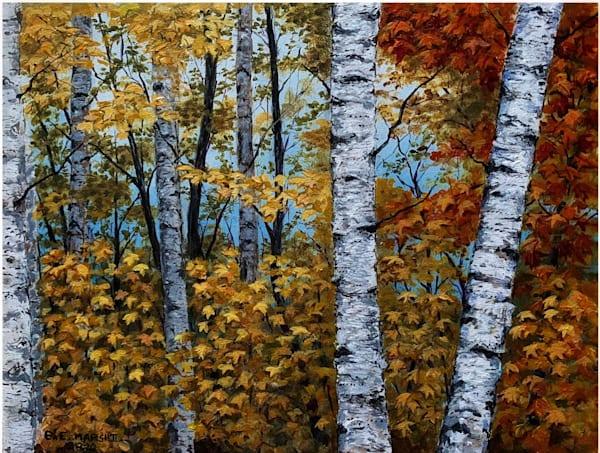 """Bezerka"" (Russian Birch Trees) Art   Skip Marsh Art"