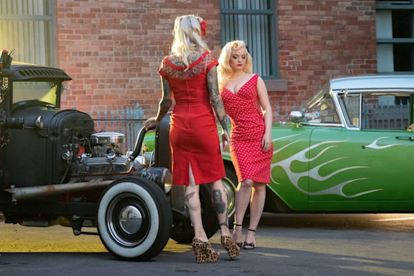 Vintage Blondes And Cars | Julie Williams Fine Art Photography