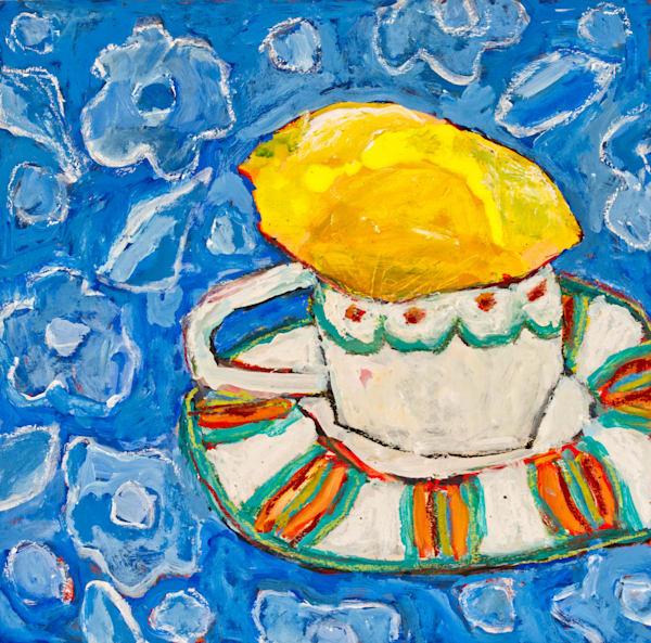 A Little Tea With Lemon Art | staciswider