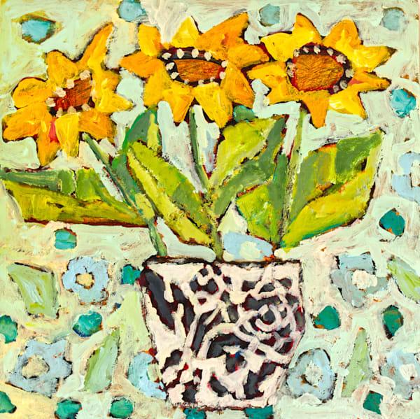 Sunniest Of Flowers Art | staciswider