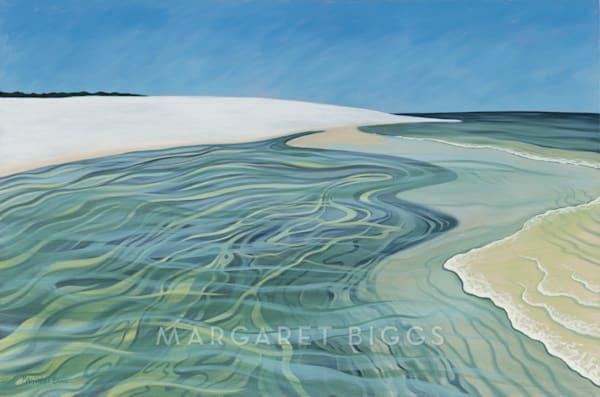 Island Pool Art | Margaret Biggs Fine Art