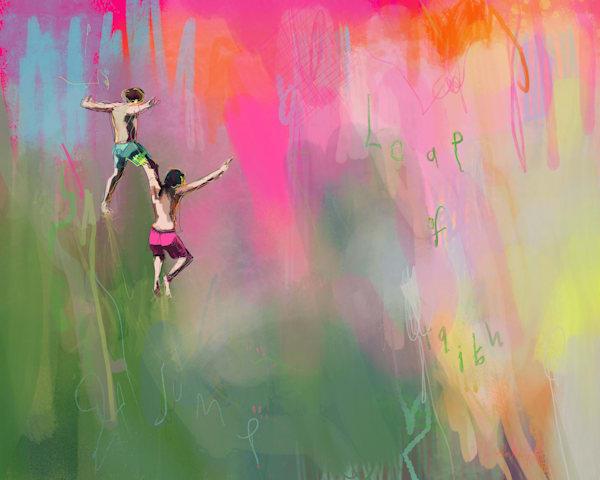 Leap Of Faith Art | Atelier Steph Fonteyn