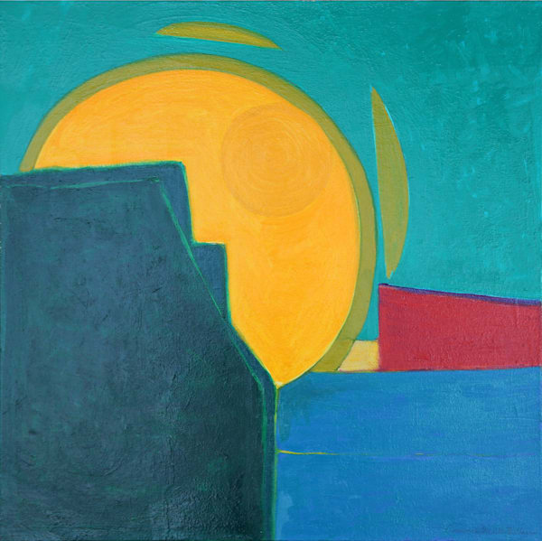 Sunrise Art | Courtney Miller Bellairs Artist