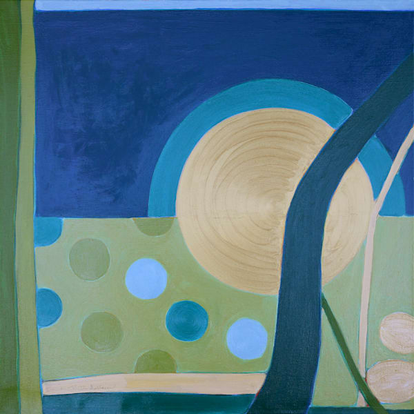 Garden View Art | Courtney Miller Bellairs Artist
