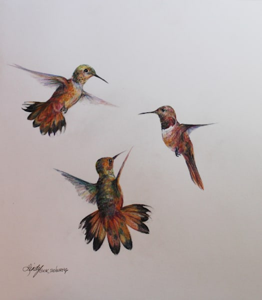 Lindy Cook Severns Art | Flight, print