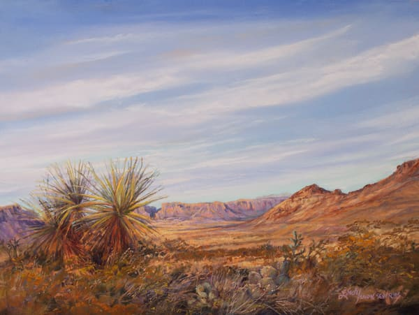 Lindy Cook Severns Art | The Moment the Desert Turns Golden, print