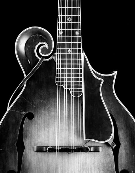 Dave Peter's Mandolin 1991 Photography Art | Rick Gardner Photography
