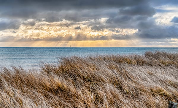 South Beach Winter God Light Art | Michael Blanchard Inspirational Photography - Crossroads Gallery