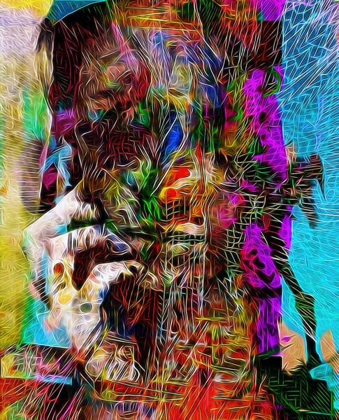 Girl In Hoodie Art | Maciek Peter Kozlowski Art