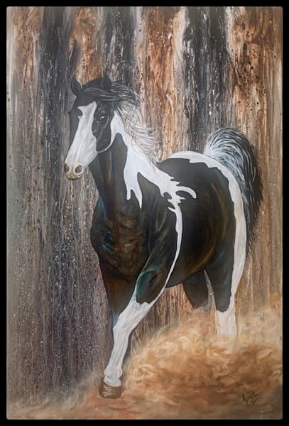 """Pure Spirit"" in Acrylics by Aprajita Lal"