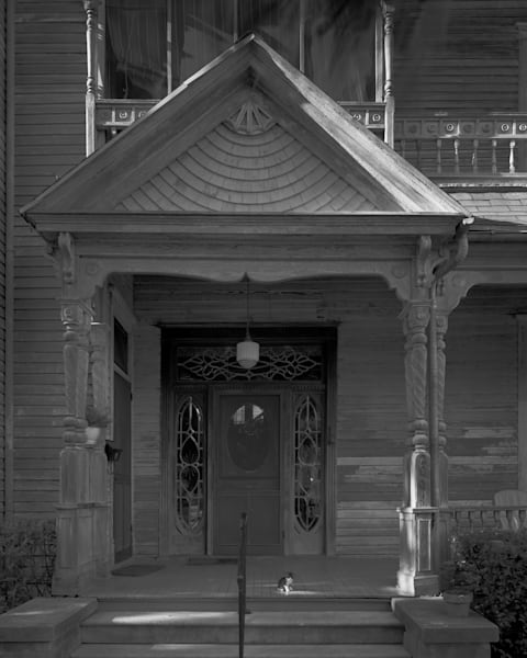 Theo Buhler House, 1894, Victoria, Texas (1975) Photography Art | Rick Gardner Photography