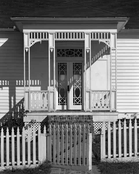 Methodist Parsonage, 1900, Millard's Crossing, Nacogdoches, Texas (1971) Photography Art | Rick Gardner Photography