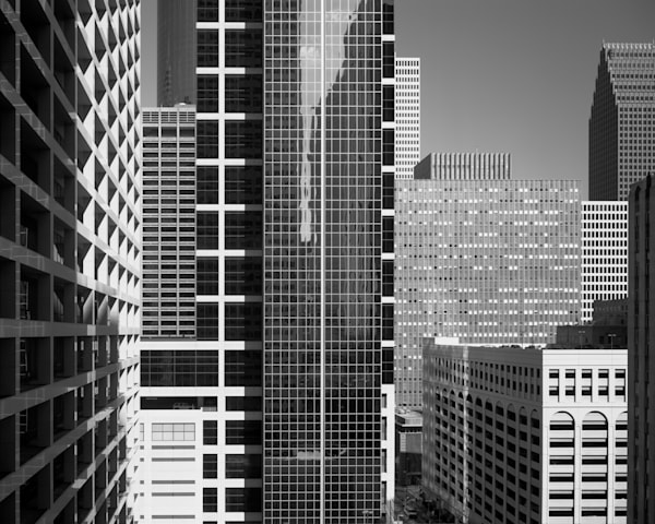 Downtown Houston, Texas (2003) Photography Art | Rick Gardner Photography