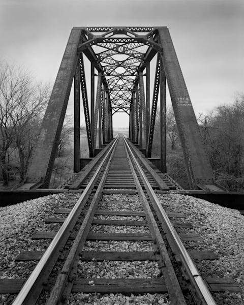 Railroad Bridge #7981 South Chambers, Near Maypearl, Texas Photography Art | Rick Gardner Photography