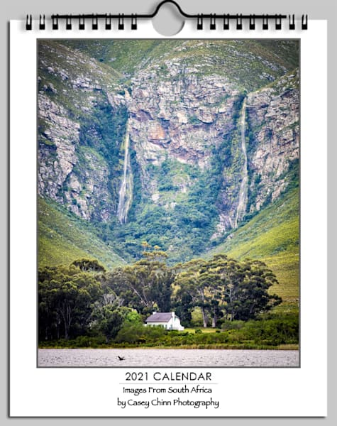 2021 South Africa Wall Calendar | Casey Chinn Photography LLC