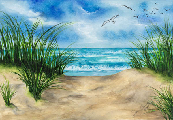 Seascape No2 Art | capeanngiclee