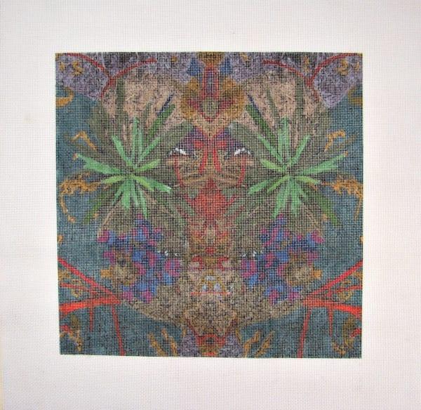 Environ 22 10x10 Needlepoint Canvas | Loree Harrell Art