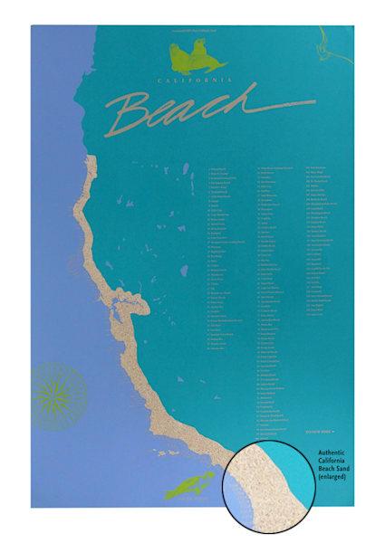 California Beach Poster™