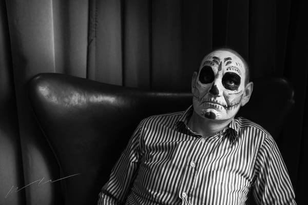 Ghoul Sentado Photography Art | Harry John Kerker Photo Artist