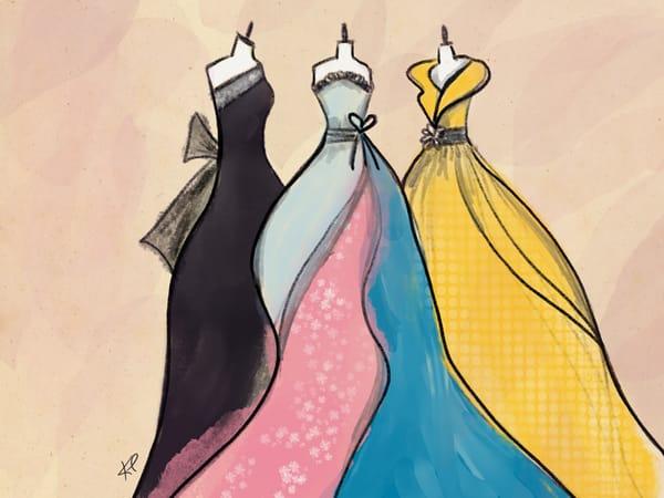 The Formal Dress artwork by artist Karlana Pedersen