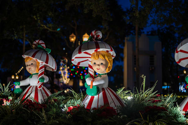The Candy Cane Girls Photography Art | William Drew Photography