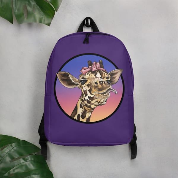 Goofy Girl Minimalist Backpack | Water+Ink Studios