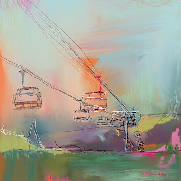 Winter Playground Ii Art | Atelier Steph Fonteyn
