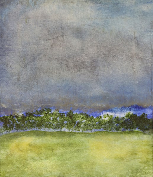 Spring Sky   Nh   Oil On Canvas Art | Peter Anderson Studio