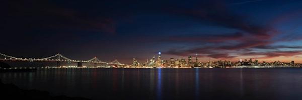 San Francisco City Skyline at Night - Fotos de San Francisco