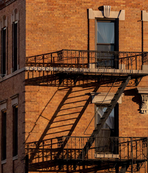 Fire Escape Off The N Train, Nyc Photography Art | Ben Asen Photography