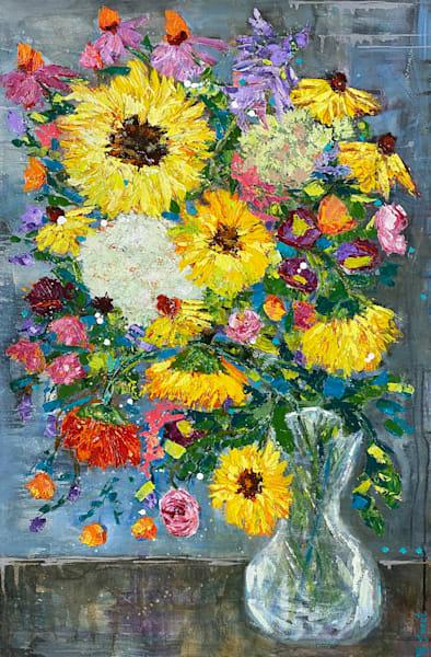 Summer Blooms Art   Marissa Sweet