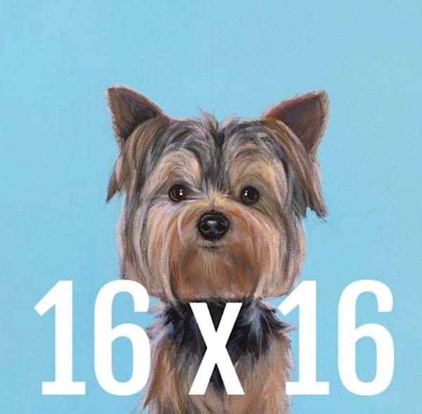 Dog A Day   16 X 16  | Lesli DeVito