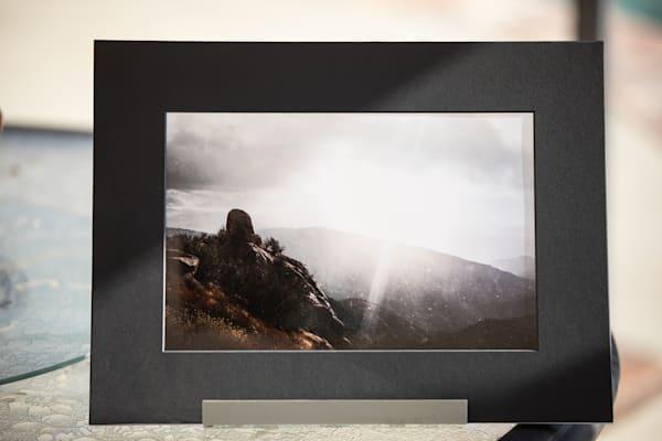 """Granite Gate"" 8x12 Matted Metallic Photo Print Photography Art | Sydney Croasmun Photography"