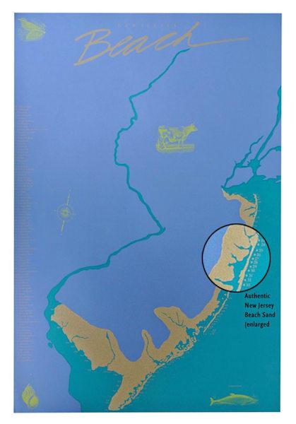 New Jersey Beach Poster™