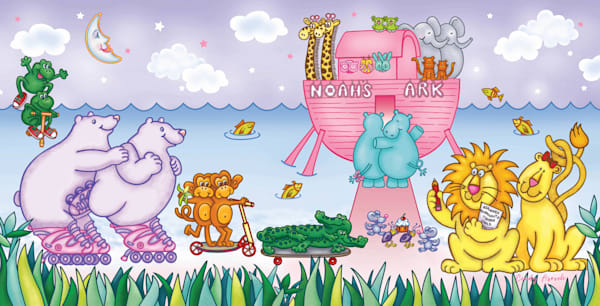 Noah's Ark   Girls Art | Cindy Avroch Fine Art & Design