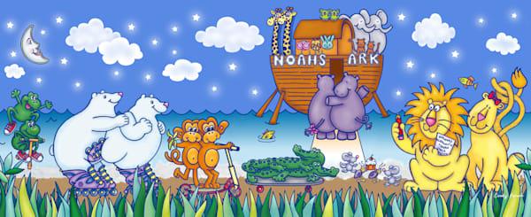 Noah's Ark   Boys Art | Cindy Avroch Fine Art & Design