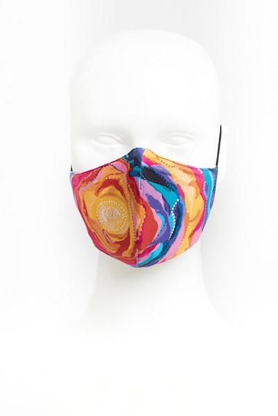 Bloom Flower Artist Face Masks