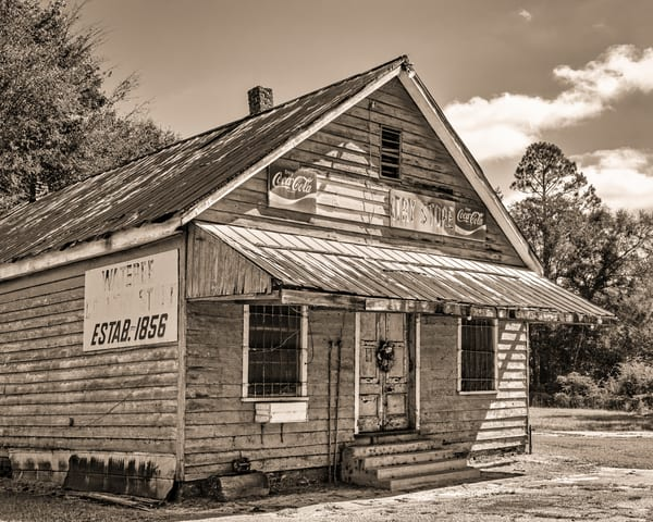 Wateree Country Store - South Carolina fine-art photography prints