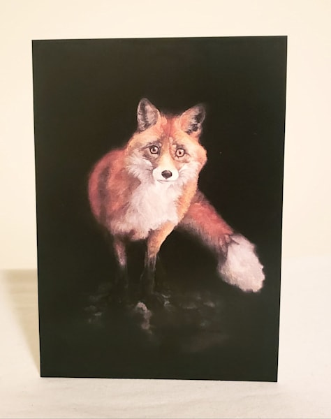 Fine Art Note Card and Envelope The Red Fox