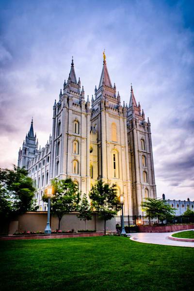 Salt Lake Temple - From the Corner