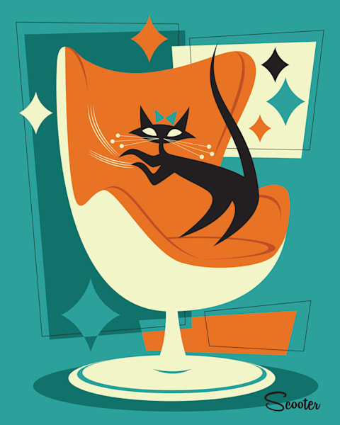 Cat Scratch Fever Print
