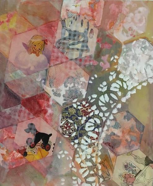 Pink Hexies Of Love Art | Mina Vancardo